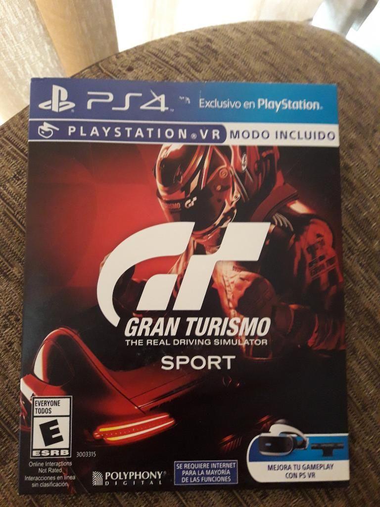 Ps4 - Gran Turismo (Nuevo)