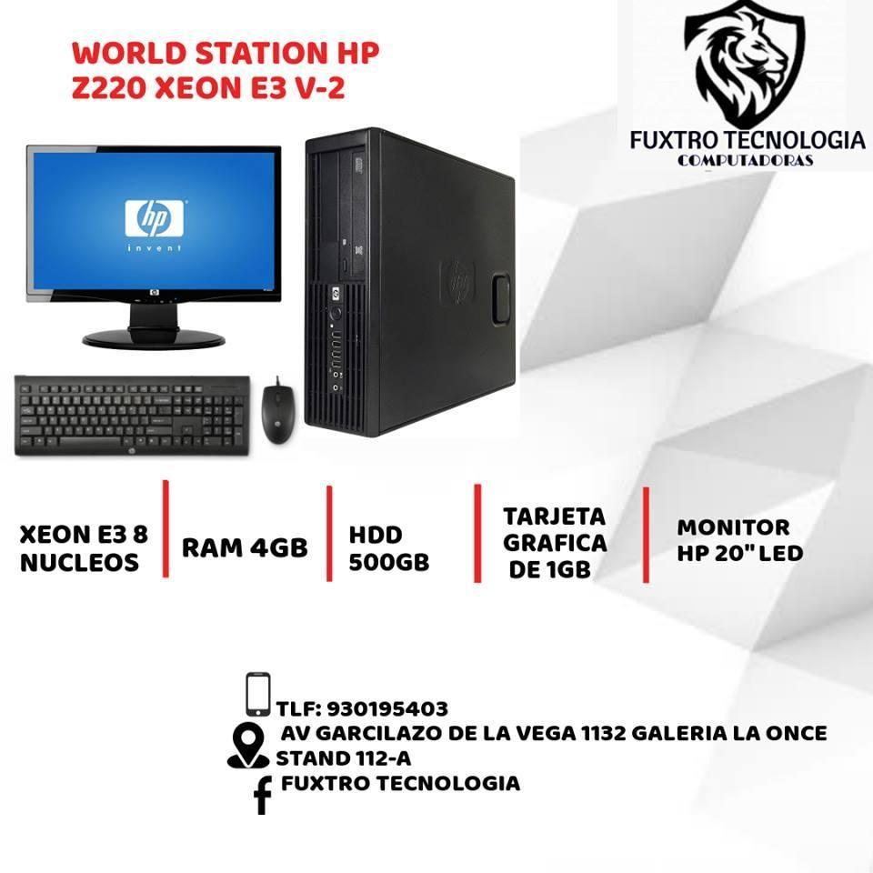 WORLD STATION HP