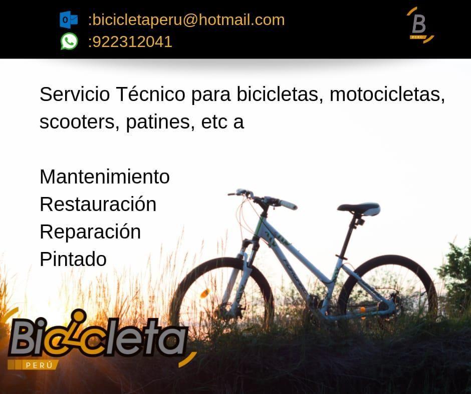 Reparación de Bicicletas, scooters, etc