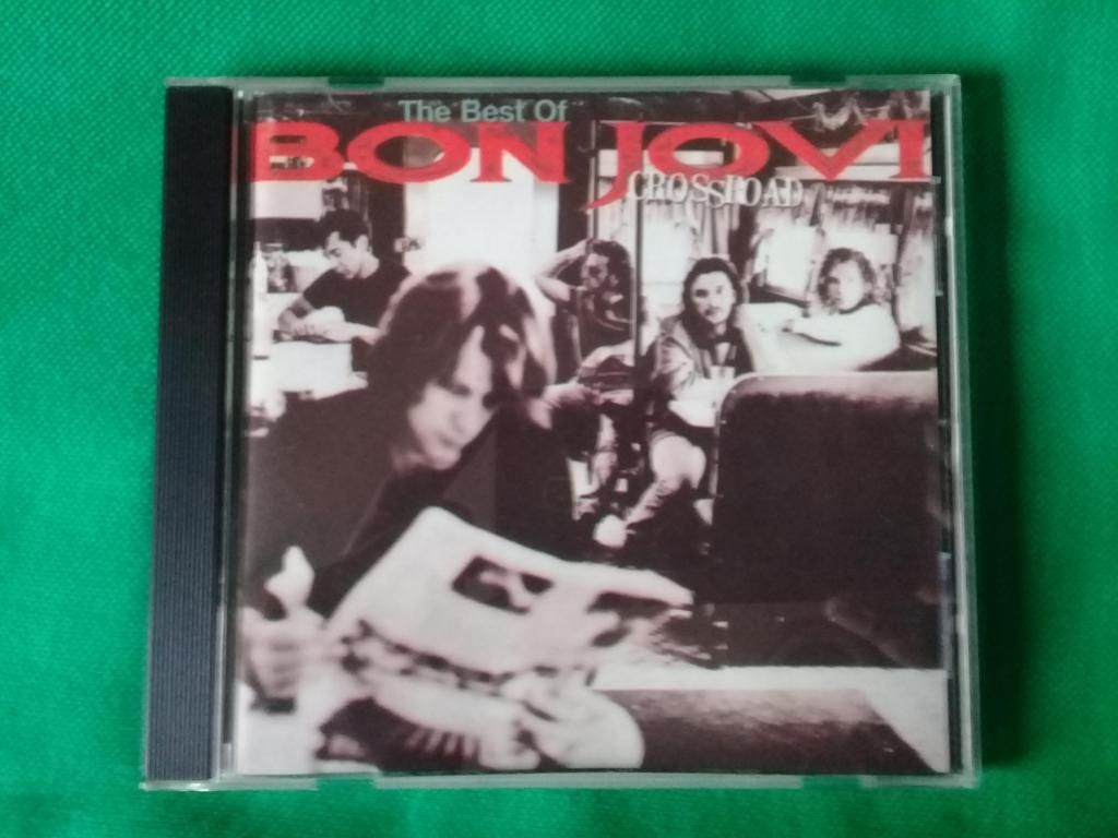 Vendo CD Bon Jovi Cross Road, en buen estado