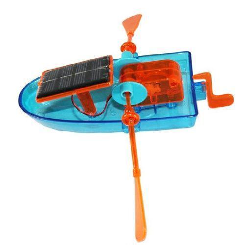Bote Solar Juguete Educativo Para Niños Kit Proyecto