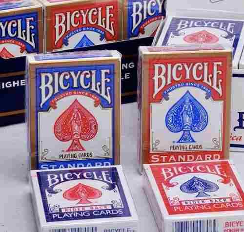 Cartas Bicycle Azul Standard