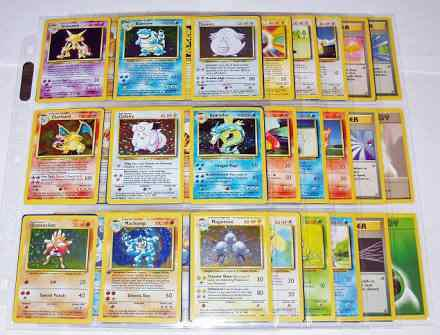 Cartas Pokemon Base Set Completo 102/102 Coleccion Completa