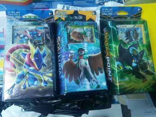 Cartas Pokemon Serie Sol Y Luna Nuevos En Caja Y Sellados!!!