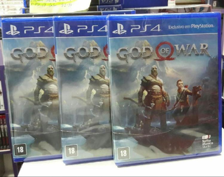 God Of War 4 Ps4 Nuevo Y Sellado Stock