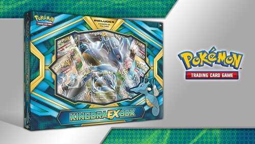 Kingdra-ex Box Cartas Pokemon Originales