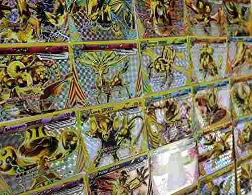 Lote De 5 Cartas Pokemon Break