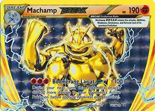 Machamp Break Cartas Pokemon 60/108 Evolucion Xy Holo