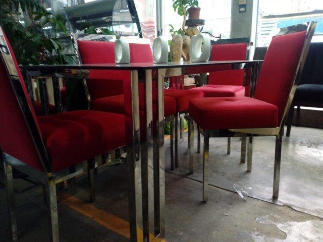 Muebles para el hogar en acero inoxiable