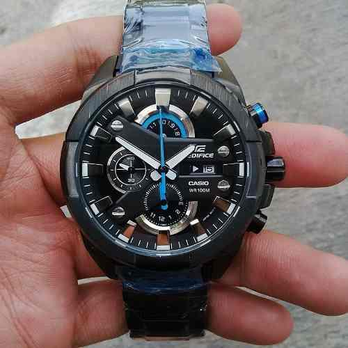 Reloj Casio Ediffice Efr-540bk-1av Nuevo Original Garantia