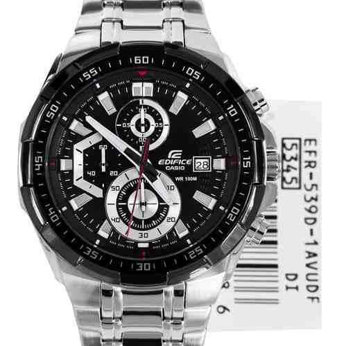 Reloj Casio Edifice Efr-539d-1av -100% Nuevo Y Original 2018