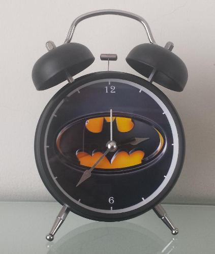 Reloj Despertador Estilo Vintage Batman - D Mesa Alarma