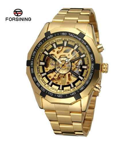 Reloj Hombre Forsining Automático Acero Inoxidable