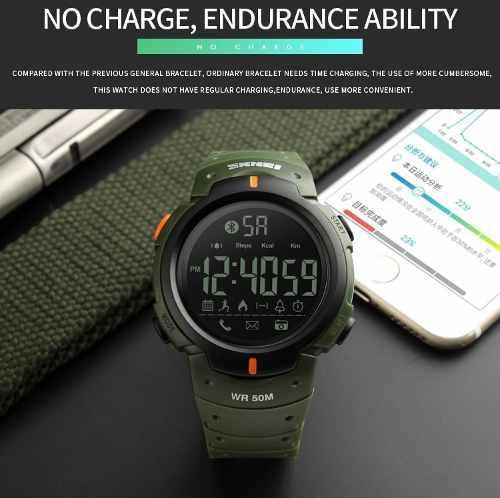 Reloj Skmei Smartwatch 1301 Podometro,kcal,km,notificacione