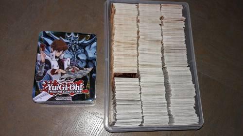 Remate Yugioh 1200 Cartas Gratis Caja De Yugioh