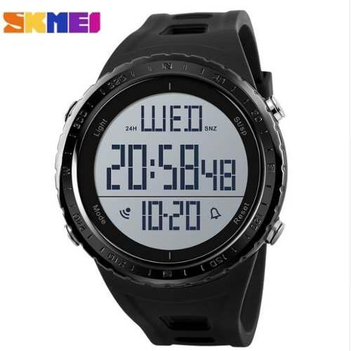 Skmei 1310 Reloj Deportivo Acuático G-shock Gran Dial Negro