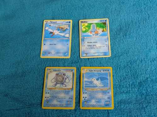 Vendo Deck De Cartas Pokemon Tipo Agua