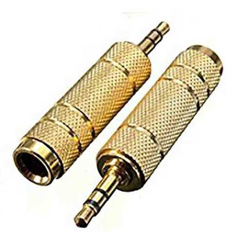 Adaptador Plug Jack 6.3mm Hemdra A Jack 3.5 Macho Lince