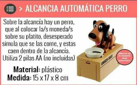 Alcancía Perro Come Monedas/gatito Roba Dinero
