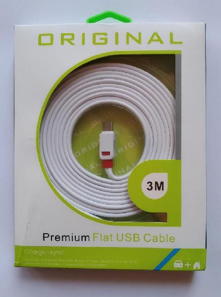 Cable para Celular Tipo C de 3 metros Delivery