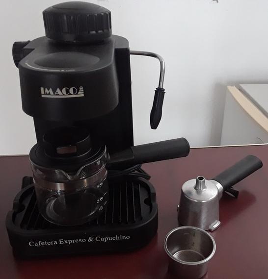 Cafetera Electrica Expresso y Capuccino Imaco