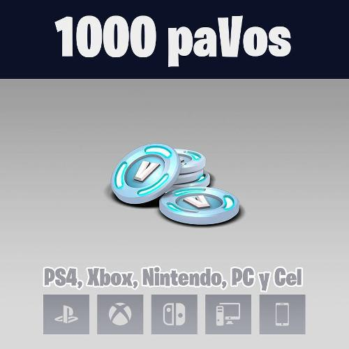 Fornite 1000 Pavos - Todo Paises