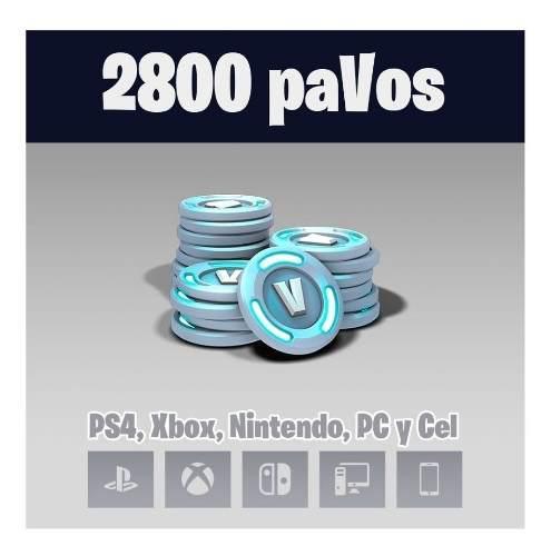 Fornite 2800 Pavos