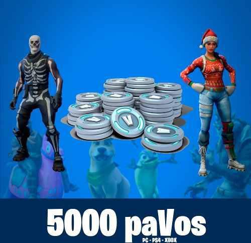 Fornite 5000 Pavos