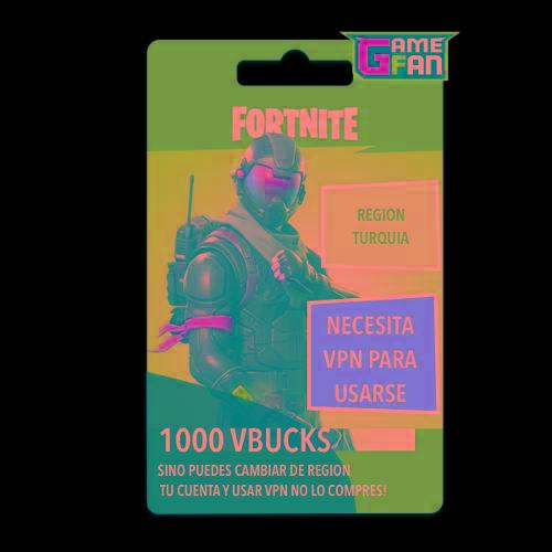 Fortnite 1000 Pavos (region Tk) - Gamefan