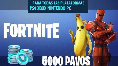 Fortnite 5000 Pavos - Pc