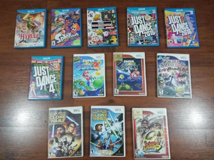 Juegos Wii U Y Wii