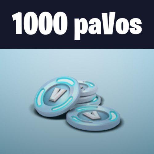 Pavos Fortnite: 1000 Pavos