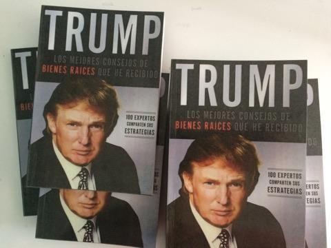 vendo libro de bienes raices de trump inversiones remato