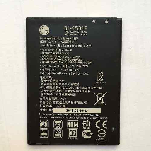 60so Batería Origina Lg V10,h961,f600,h900(bl-45b1f