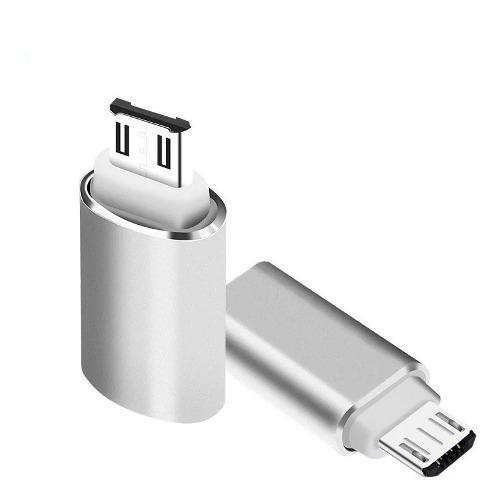 Adaptador De Usb C Tipo-c 3.0 A Micro Usb 2.1 Hembra A Macho
