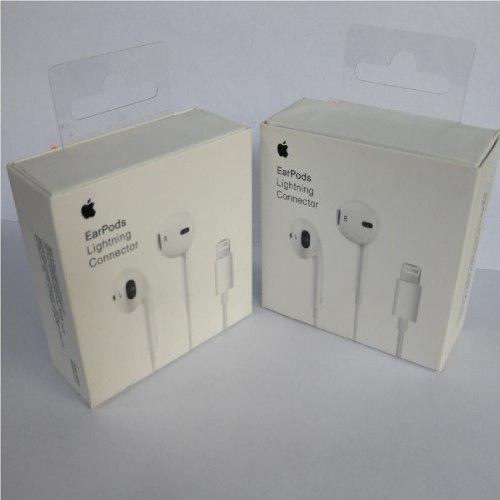 Audífonos Earpods Lightning iPhone 7, 8, X Apple Original