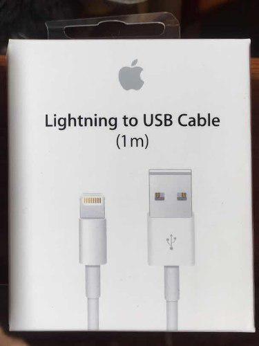 Cable Usb Lightning Para iPhone Xs/5s/6s/7/8plus-se Genuino