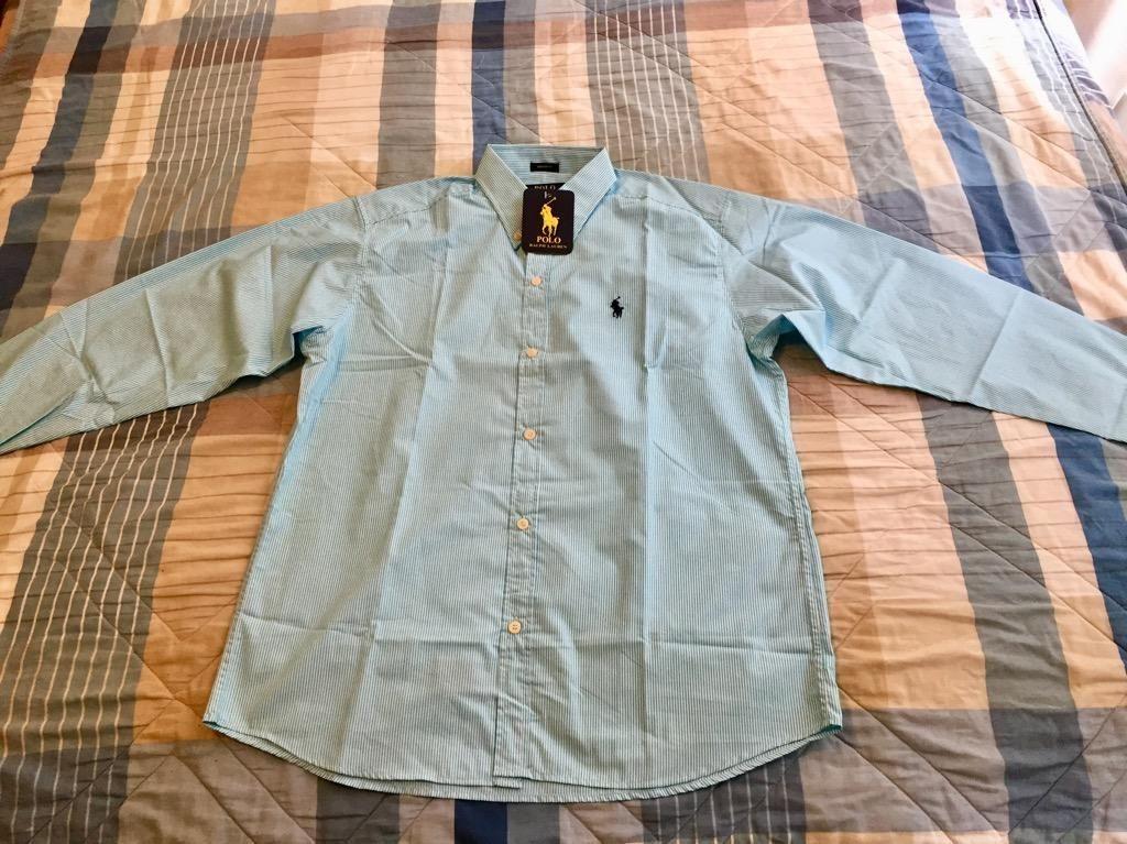 Camisa Polo Ralph Lauren Rayas Talla M