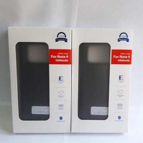 Case Batería Cargador Note 9 5000 Mah Negro Boleta Garantia