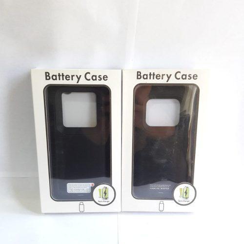 Case Batería Cargador S9 Plus S9+ 5200mah Negro Boleta