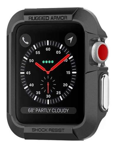 Case Spigen Rugged Armor Para Apple Watch Series 2 3 42mm