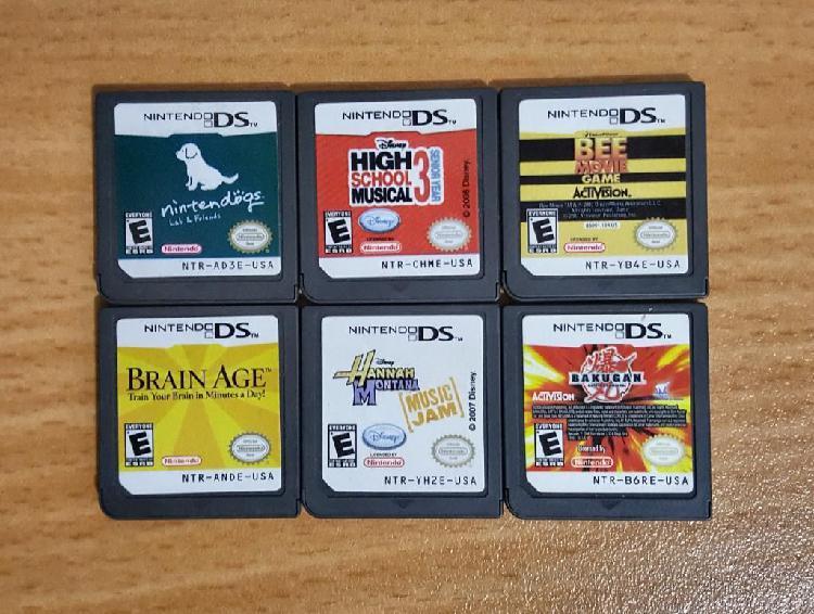 Juegos Nintendo Ds Originales