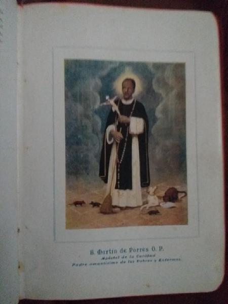 Libro Vida de San Martin de Porres Vint.