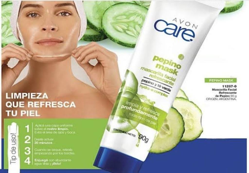 Mascarilla Facial Avon Care 90gr.