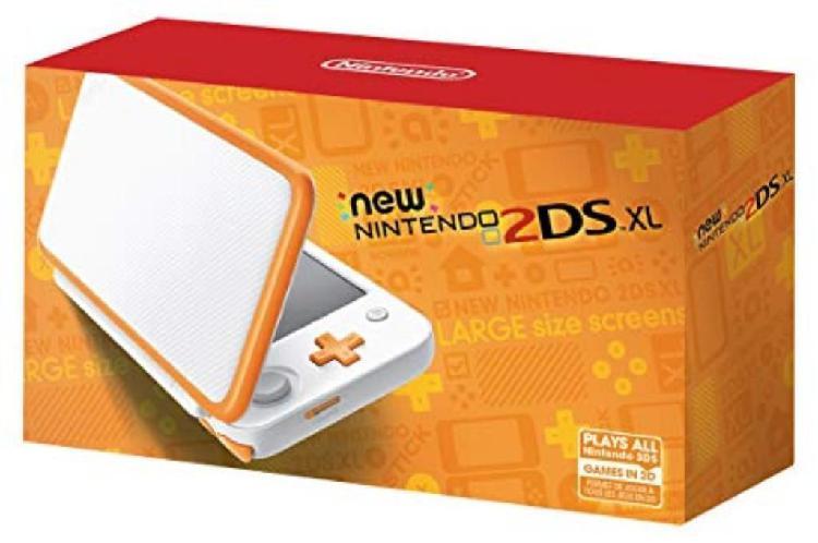 Nintendo 2ds Xl White/orange (sellado)