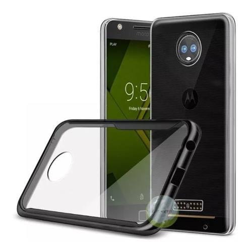 Protector Funda Clear Cover Motorola Z3 Play