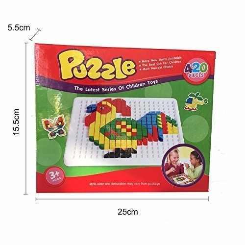 Puzzle Juguete Didáctico Para Niños 420 Piezas