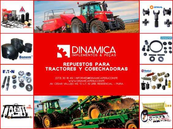 Venta de repuestos para tractores piura en Chiclayo