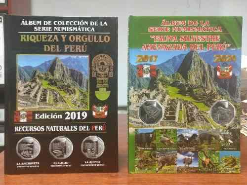 2x27 Soles - Album Tipo Libro Coleccion De Monedas Peruanas