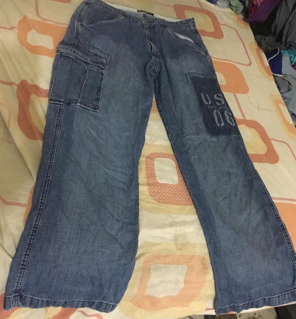 Pantalon Cargo Jeans